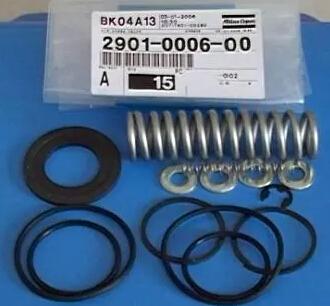 特斯拉阀_阿特拉斯空压机配件螺杆空压机配件GA30最小压力阀保养包2901000600